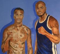 Boxers Harlem & Sebastian Eubank